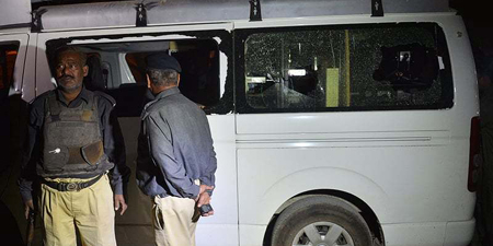 Taliban claim responsibility for attack on Samaa van